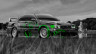 Toyota-Chaser-JZX100-JDM-Crystal-Nature-Car-2014-Photoshop-Green-Effects-design-by-Tony-Kokhan-[www.el-tony.com]