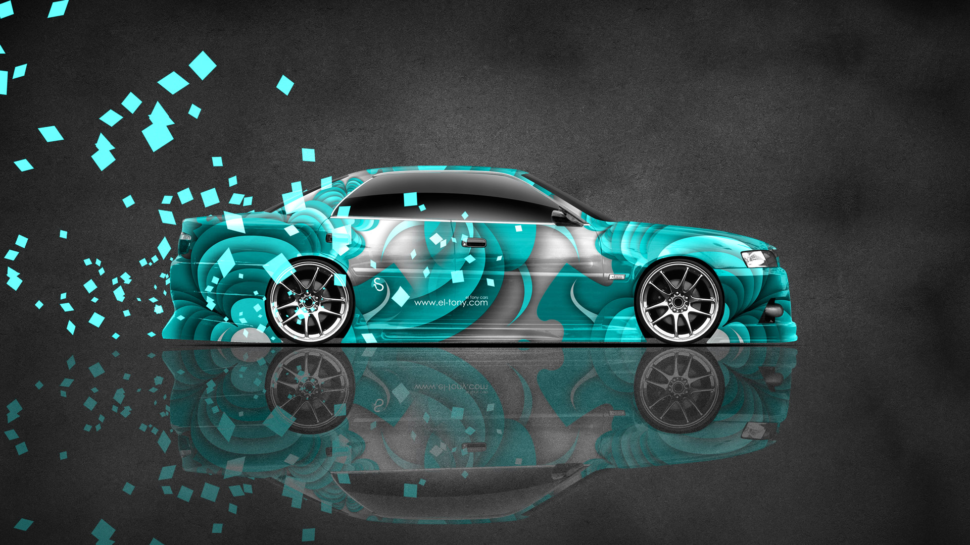 ... Toyota Chaser JZX100 JDM Side Super Abstract Car