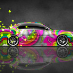 Toyota Chaser JZX100 JDM Side Super Abstract Car 2014