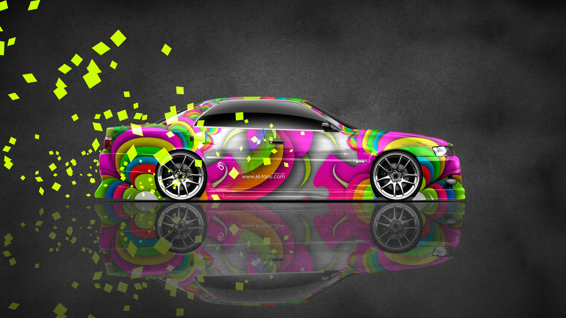 Exceptionnel Toyota Chaser JZX100 JDM Side Super Abstract Car