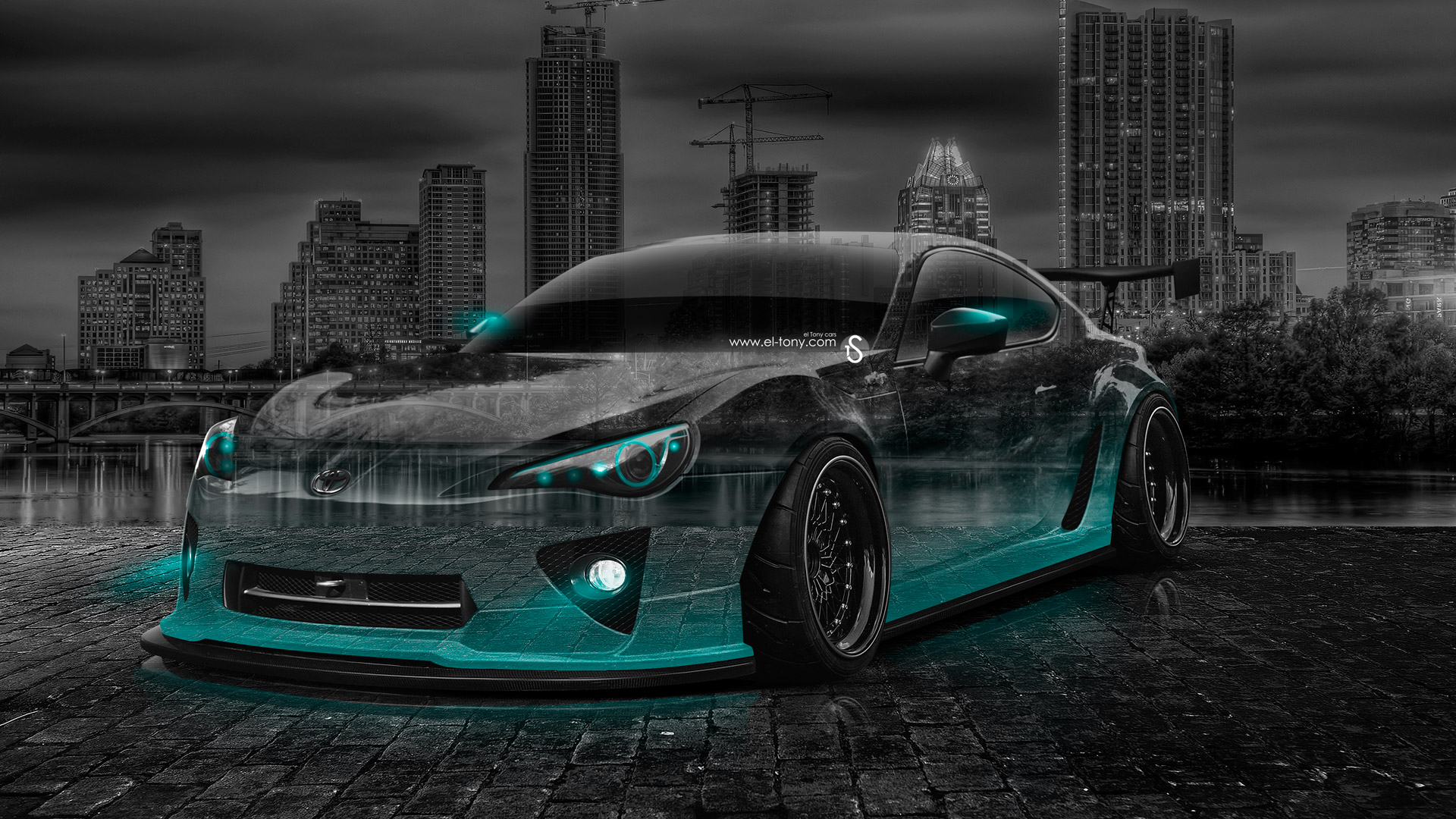 Toyota GT86 JDM Crystal City Car 2014 Azure