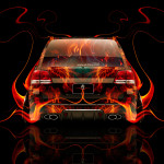 Toyota Land Cruiser 200 JDM Back Fire Abstract Car 2014
