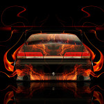 Toyota Mark2 JZX100 JDM Back Fire Abstract Car 2014