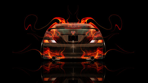 Toyota-Mark2-JZX110-JDM-Back-Fire-Abstract-Car-2014-HD-Wallpapers-design-by-Tony-Kokhan-[www.el-tony.com]