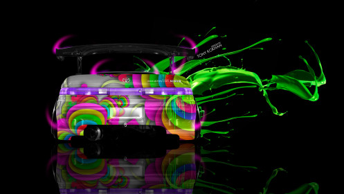 Toyota-Mark2-JZX90-JDM-Back-Live-Colors-Car-2014-Art-Multicolors-HD-Wallpapers-design-by-Tony-Kokhan-[www.el-tony.com]