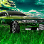 Toyota Mark2 JZX90 JDM Crystal Nature Car 2014