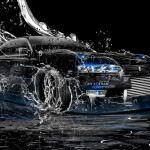 Toyota Mark2 JZX90 JDM Drift Ice Water Car 2014