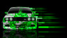 BMW-M3-E30-Front-Abstract-Aerography-Car-2014-Green-Colors-HD-Wallpapers-design-by-Tony-Kokhan-[www.el-tony.com]