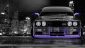 BMW-M3-E30-Front-Crystal-City-Car-2014-Violet-Neon-HD-Wallpapers-design-by-Tony-Kokhan-[www.el-tony.com]
