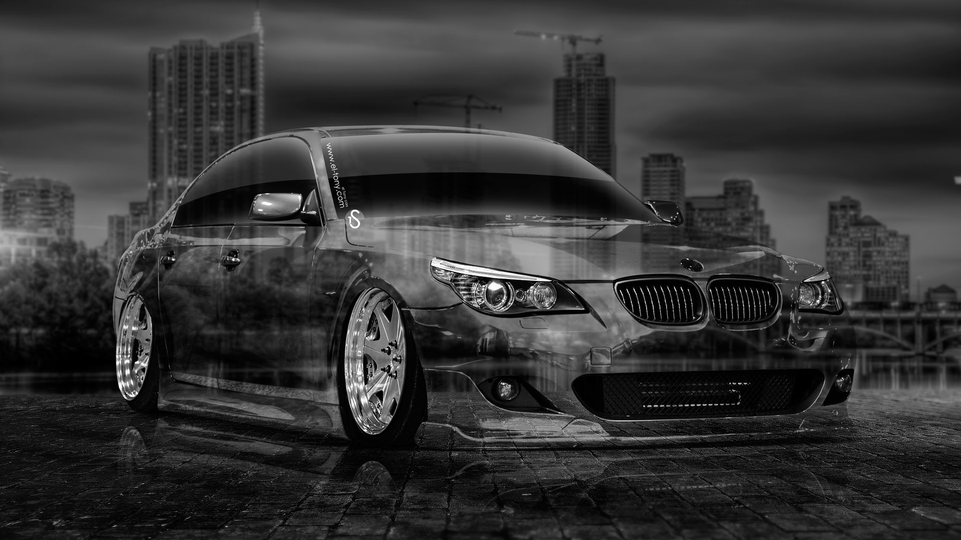 Bon BMW M5 E60 Tuning Crystal City Car 2014