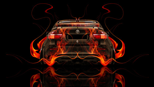 BMW-X6-Back-Fire-Abstract-Car-2014-Photoshop-HD-Wallpapers-design-by-Tony-Kokhan-[www.el-tony.com]