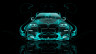 BMW-X6-Front-Azure-Fire-Abstract-Car-2014-Photoshop-HD-Wallpapers-design-by-Tony-Kokhan-[www.el-tony.com]