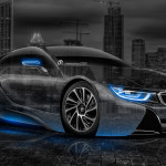 BMW i8 Crystal City Car 2014