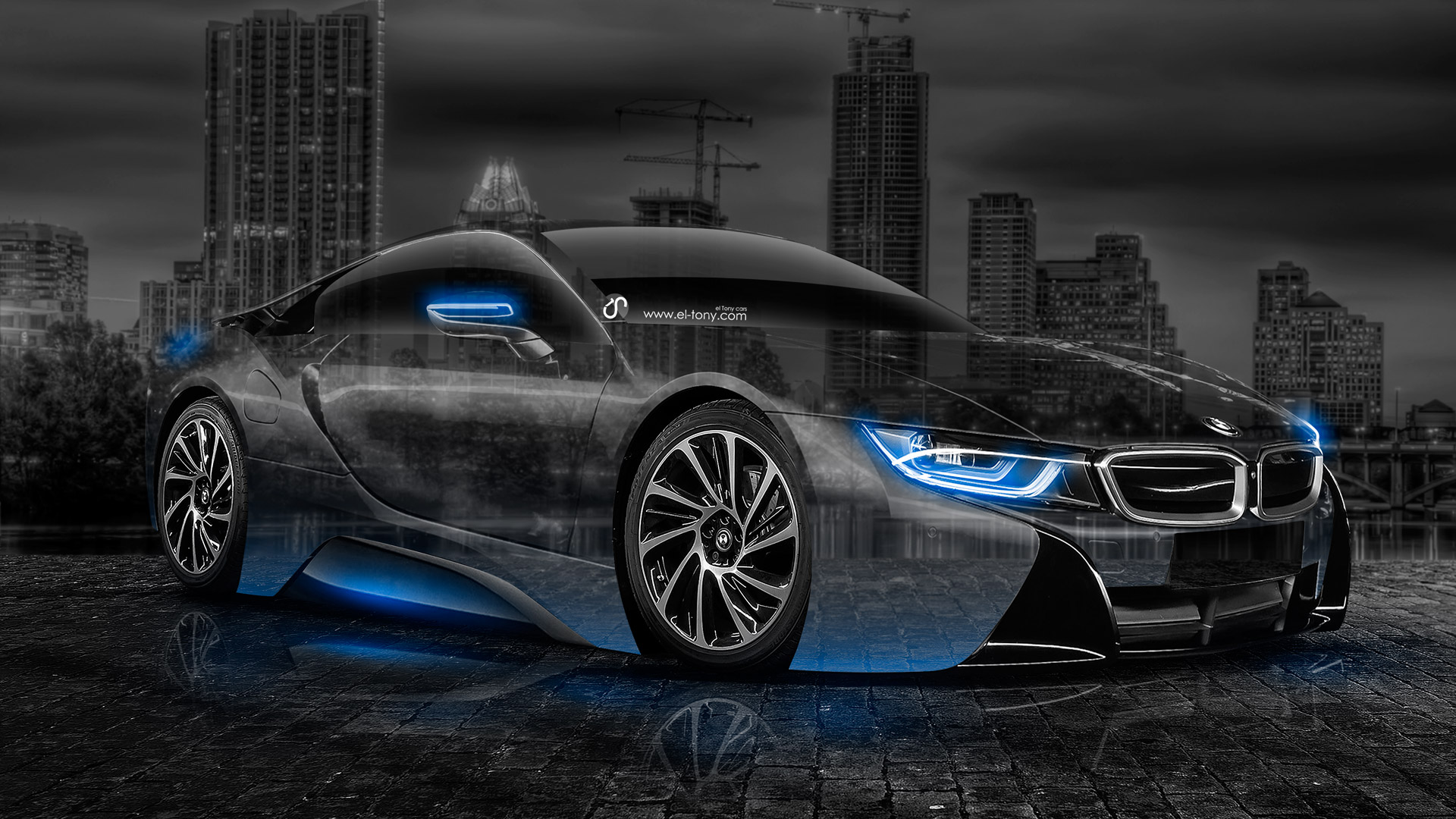 Bmw I8 Crystal City Car 2014 El Tony