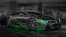 BMW-i8-Crystal-City-Car-2014-Green-Neon-HD-Wallpapers-design-by-Tony-Kokhan-[www.el-tony.com]