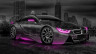 BMW-i8-Crystal-City-Car-2014-Pink-Neon-HD-Wallpapers-design-by-Tony-Kokhan-[www.el-tony.com]