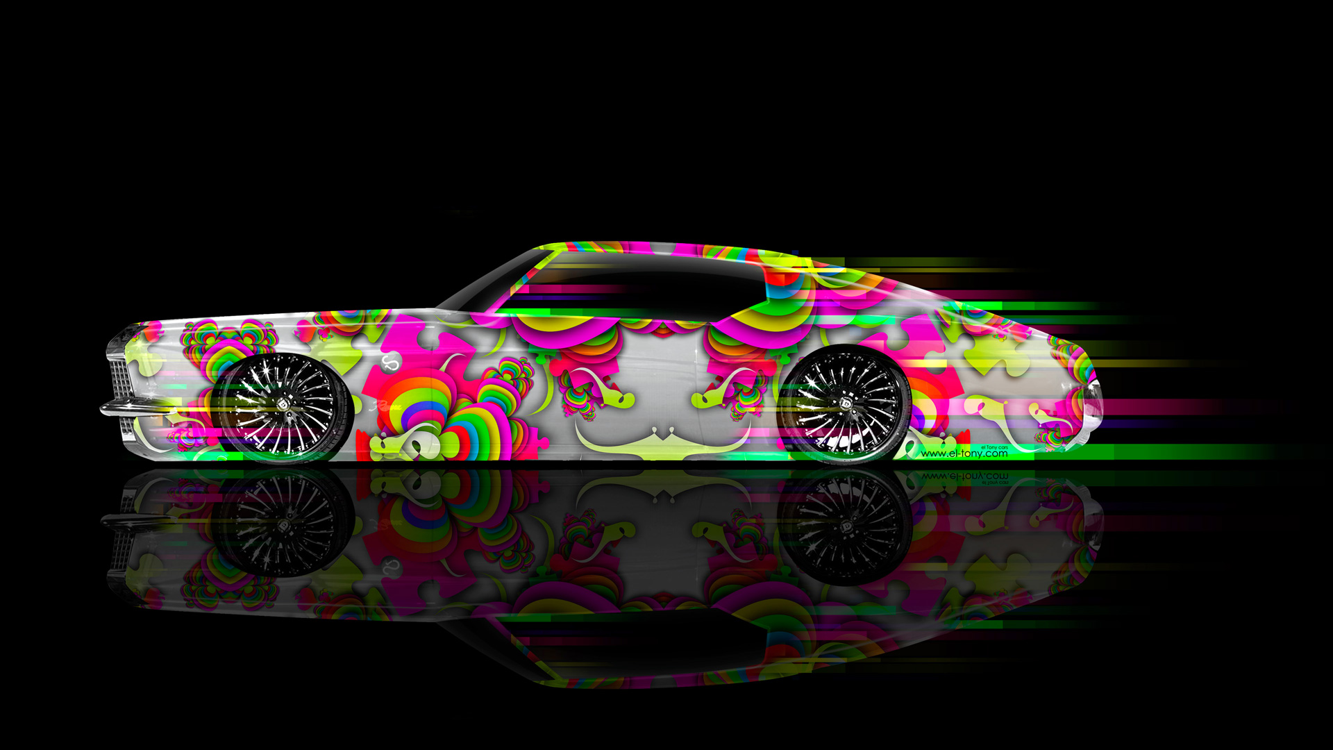 Buick-Riviera-1972-Side-Abstract-Aerography-Muscle-Car-2014-Multicolors-HD-Wallpapers-design-by-Tony-Kokhan-[www.el-tony.com]