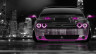 Dodge-Challenger-Muscle-Front-Crystal-City-Car-2014-Pink-Neon-HD-Wallpapers-design-by-Tony-Kokhan-[www.el-tony.com]