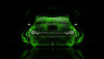 Dodge-Challenger-Muscle-Front-Green-Fire-Abstract-Car-2014-Art-HD-Wallpapers-design-by-Tony-Kokhan-[www.el-tony.com]