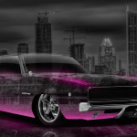 Dodge Charger SRT Retro Muscle Crystal City Car 2014