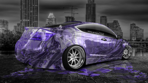 Honda-Accord-Coupe-JDM-Anime-Girls-Aerography-Car-2014-Violet-Colors-HD-Wallpapers-design-by-Tony-Kokhan-[www.el-tony.com]