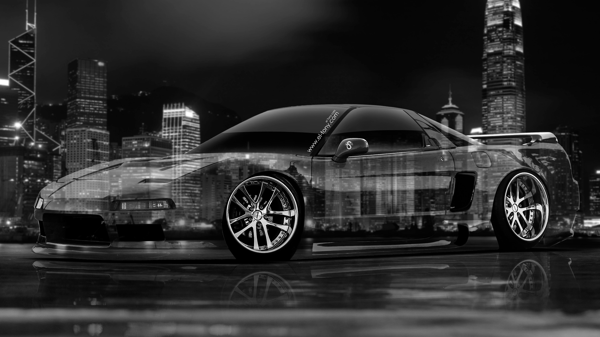Amazing Honda NSX JDM Crystal City Car 2014