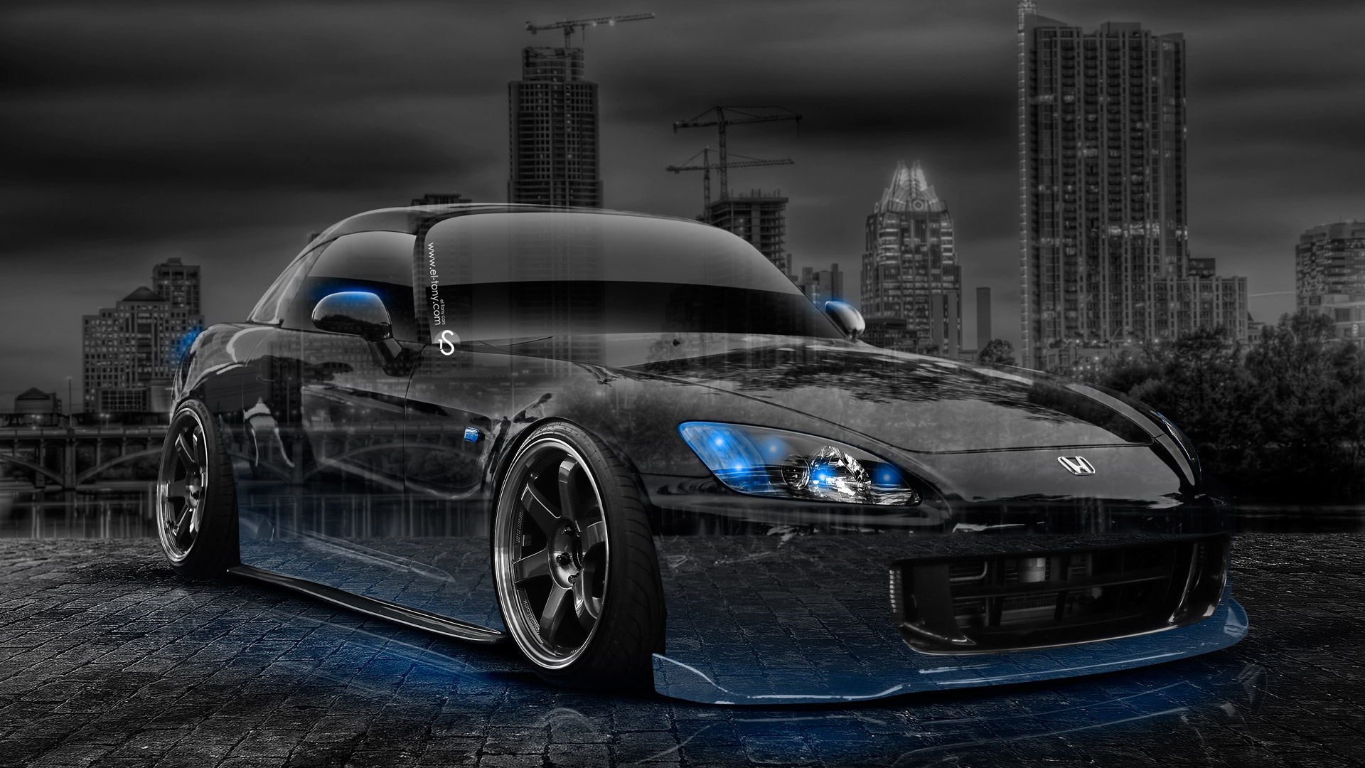 ... Honda S2000 JDM Crystal City Car 2014 Blue  ...