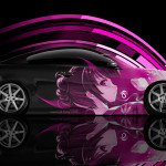 Infiniti G37 Side Anime Aerography Car 2014