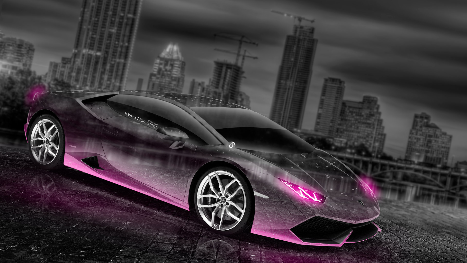 Lamborghini Huracan Crystal City Car 2014 | El Tony