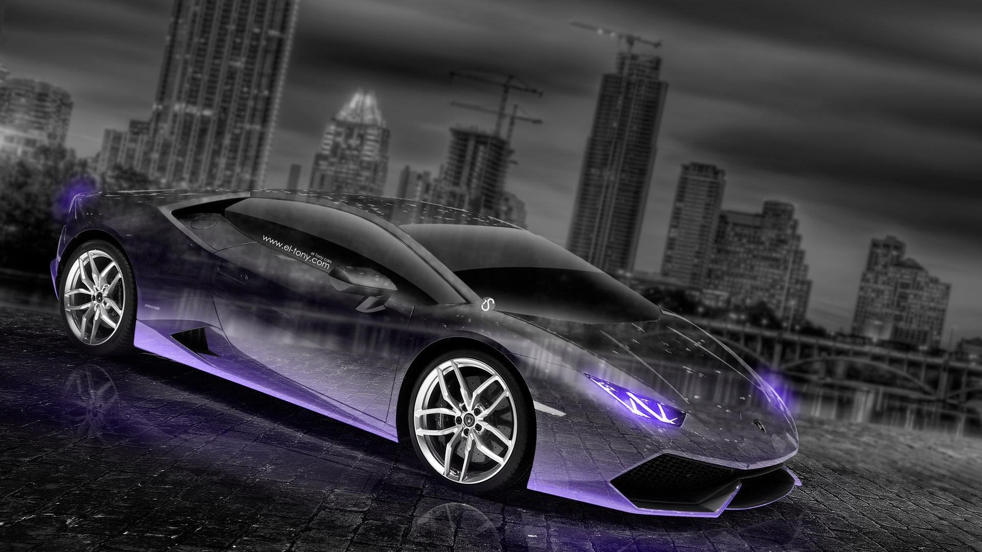 Lamborghini Huracan Crystal City Car 2014