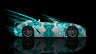Lexus-LFA-Roadster-Side-Abstract-Aerography-Car-2014-Azure-Colors-HD-Wallpapers-design-by-Tony-Kokhan-[www.el-tony.com]