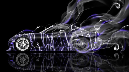 Mazda-RX7-JDM-Side-Smoke-Drift-Car-2014-Violet-Neon-HD-Wallpapers-design-by-Tony-Kokhan-[www.el-tony.com]