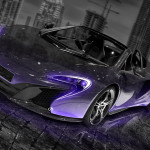 McLaren 650S Spider Crystal City Car 2014