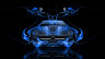 Mercedes-SLS-AMG-Open-Doors-Front-Blue-Fire-Abstract-Car-2014-HD-Wallpapers-design-by-Tony-Kokhan-[www.el-tony.com]