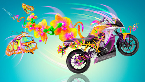 Moto-Rapitan-Side-Fantasy-Flowers-Butterfly-Bike-2014-Multicolors-HD-Wallpapers-design-by-Tony-Kokhan-[www.el-tony.com]