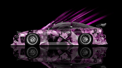 Nissan-180SX-JDM-Side-Anime-Aerography-Car-2014-Photoshop-Art-Pink-Colors-HD-Wallpapers-design-by-Tony-Kokhan-[www.el-tony.com]
