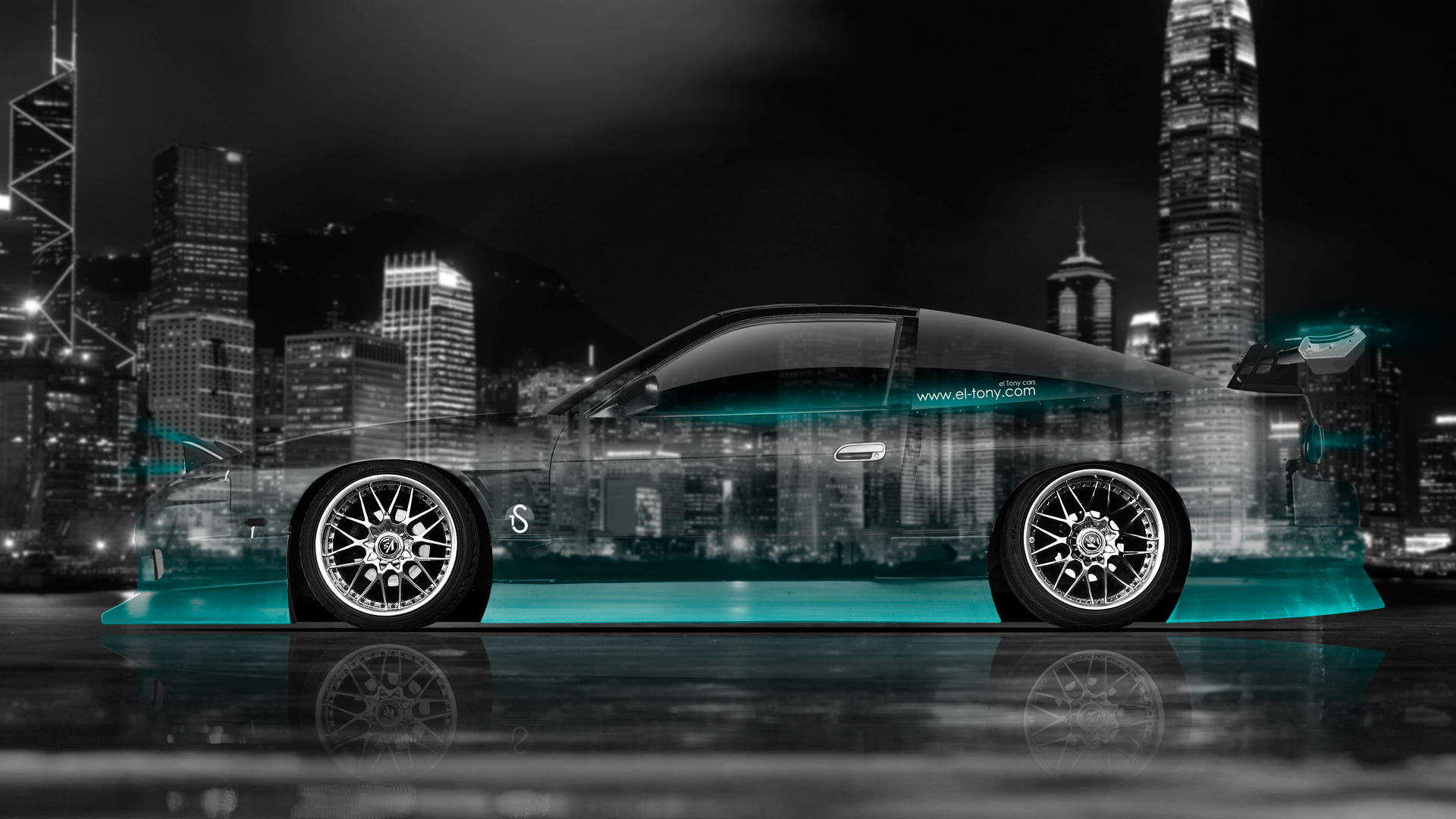 Nissan 180SX JDM Side Crystal City Car 2014