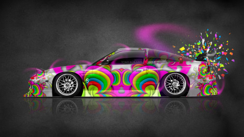 Nissan-180SX-JDM-Side-Domo-Kun-Toy-Car-2014-Multicolors-HD-Wallpapers-design-by-Tony-Kokhan-[www.el-tony.com]