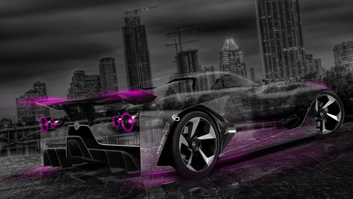Nissan-GTR-2020-Concept-Crystal-City-Car-2014-Pink-Neon-Photoshop-Art-HD-Wallpapers-design-by-Tony-Kokhan-[www.el-tony.com]