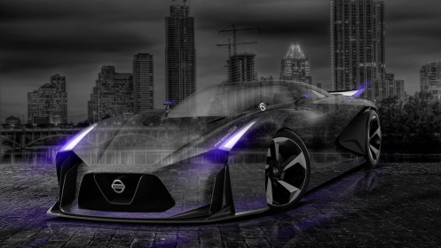 Nissan-GTR-2020-Concept-Crystal-City-Car-2014-Violet-Neon-Photoshop-HD-Wallpapers-design-by-Tony-Kokhan-[www.el-tony.com]