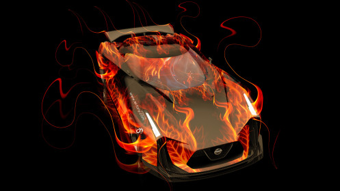 Nissan-GTR-2020-Concept-Fire-Abstract-Car-2014-HD-Wallpapers-design-by-Tony-Kokhan-[www.el-tony.com]