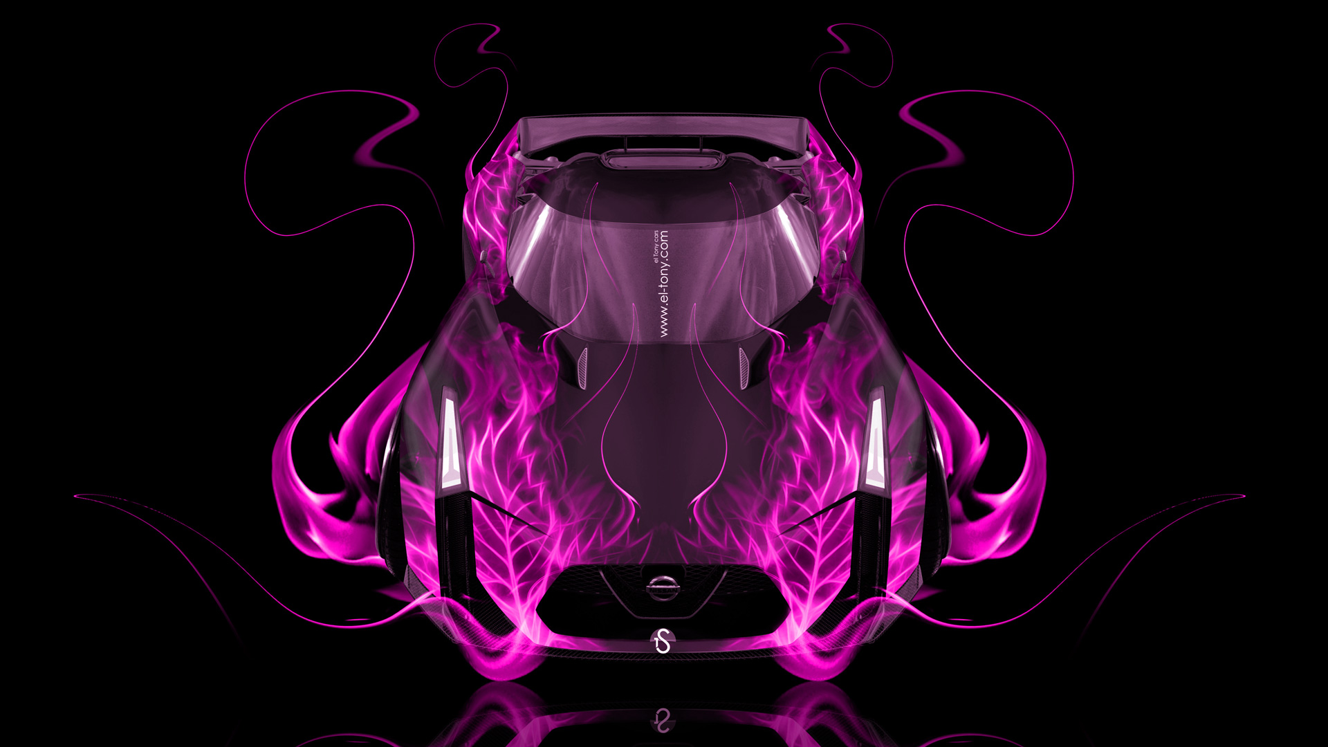 Nissan GTR Concept 2020 Front Up Fire Abstract Car 2014 ...