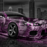 Nissan Silvia S15 JDM Anime Aerography City Car 2014
