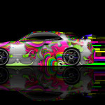 Nissan Skyline GTR R34 Super Abstract Aerography Car 2014