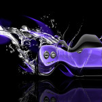 Pagani Zonda Fantasy Water Plastic Car 2014