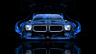 Pontiac-Firebird-Front-Blue-Fire-Abstract-Car-2014-HD-Wallpapers-design-by-Tony-Kokhan-[www.el-tony.com]