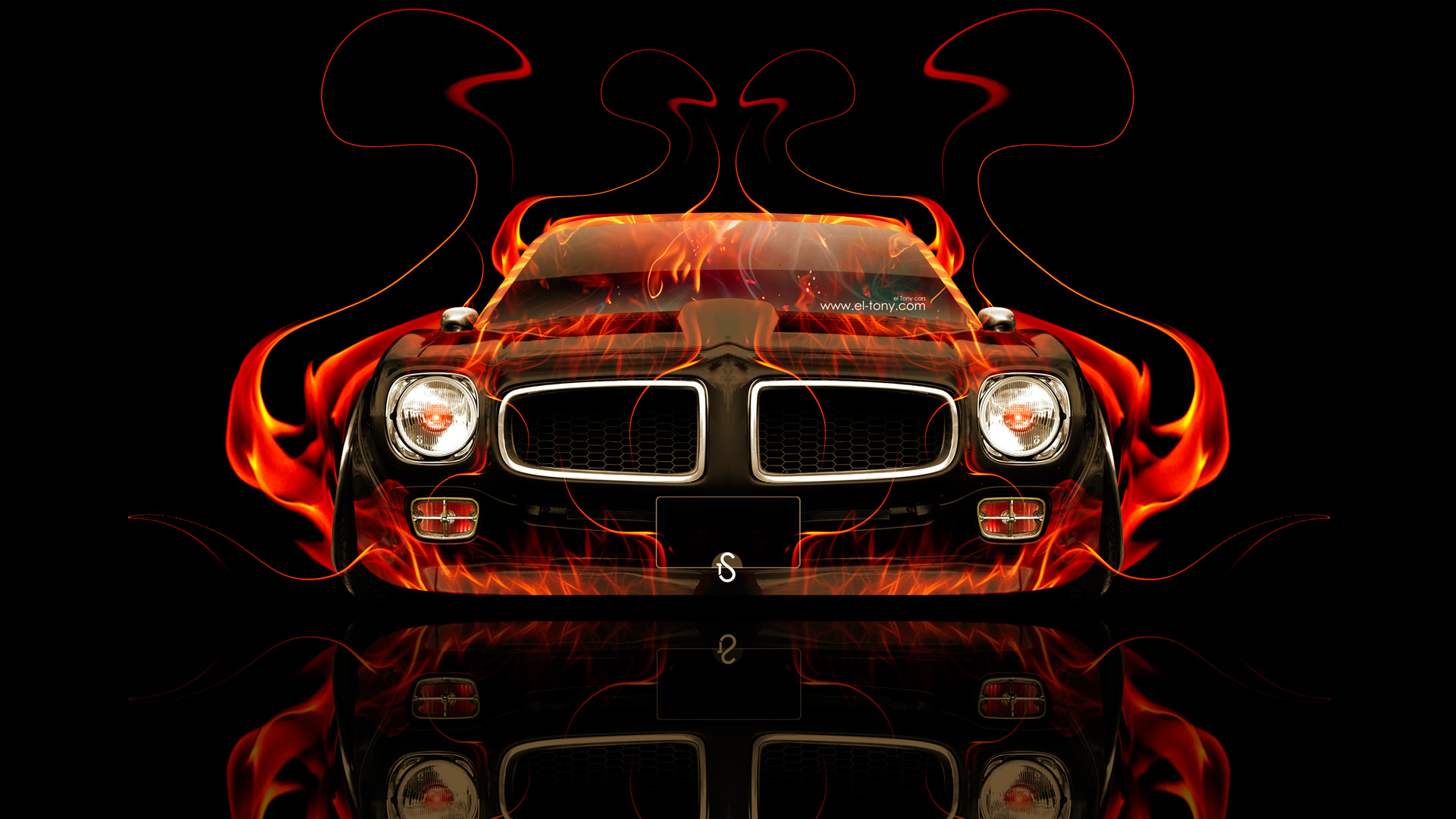 Pontiac-Firebird-Front-Fire-Abstract-Car-2014-HD-Wallpapers-design-by-Tony-Kokhan-[www.el-tony.com]