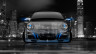Porsche-911-Front-Crystal-City-Car-2014-Blue-Neon-HD-Wallpapers-design-by-Tony-Kokhan-[www.el-tony.com]