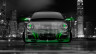 Porsche-911-Front-Crystal-City-Car-2014-Green-Neon-HD-Wallpapers-design-by-Tony-Kokhan-[www.el-tony.com]