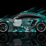 Porsche 911 GT2 Side Anime Aerography Car 2014